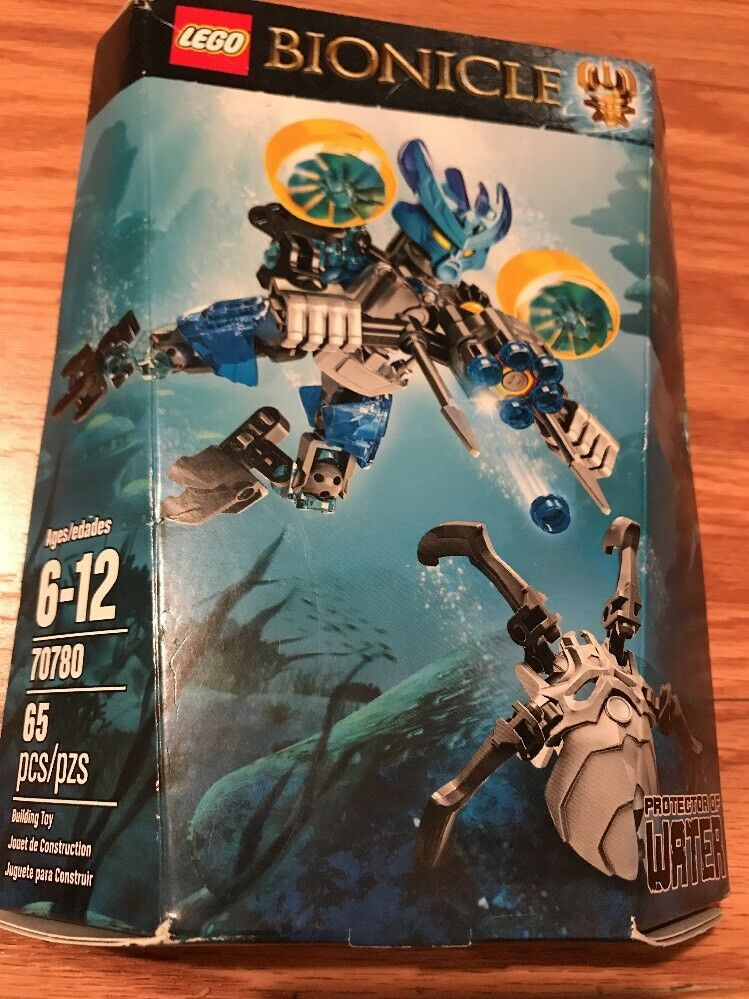 LEGO Bionicle Bionicle Bionicle 70780 Predector of Water Building New Dented Box 6cff47