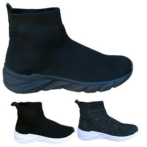 sock top trainers