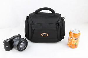 Red De Nylon hombro cámara caso para SONY Cyber-shot DSC HX400V RX10 RX1 H300
