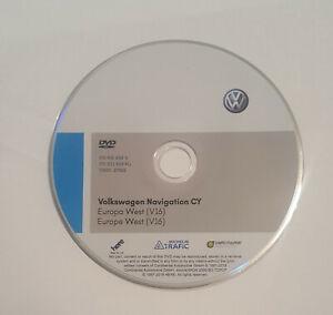 Details about Latest 2019 V16 VW RNS510/810 sat nav disc map update  Navigation UK&West europ