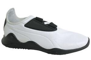 Dettagli su Puma Mostro Nyc Bianco Cinturino Nero Lacci Scarpe Sportive Uomo 363624 01 D58