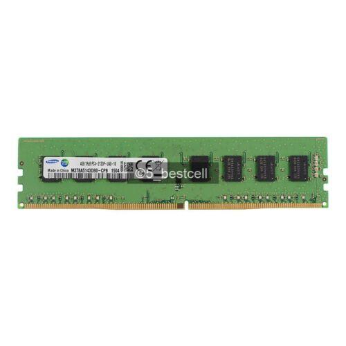 New Samsung 4GB 1RX8 PC4-2133P DDR4 PC4-17000 2133MHZ 288Pin Desktop Memory Ram