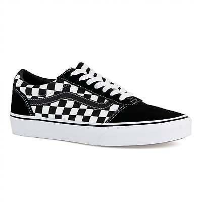 vans blanche et noire