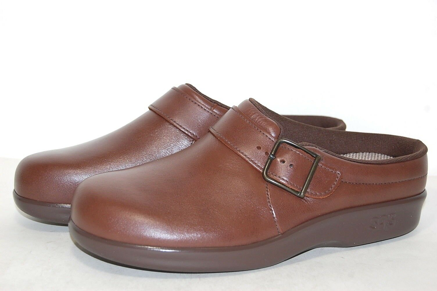 Original Original Original SAS Clog 1900-182 W Wide Made in U.S.A Leather femmes 4851ee