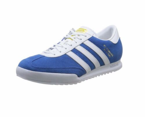 adidas Beckenbauer Mens Running Trainer Shoe Blue Size 7-11 New RRP £87//