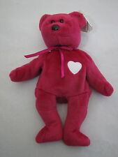 New! 1999 Ty VALENTINA Beanie Baby, PE 5th Generation Swing Tag, Rare Valentines