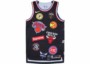 New-in-Plastic-Nike-x-Supreme-NBA-Authentics-Jersey-in-Black-Size-48-Authentic