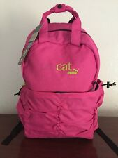 Puma Procat School Pink Backpack Book bag with Laptop Sleeve - NWT