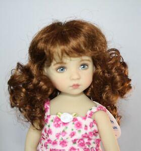 Doll wig 10-11 light brown 102
