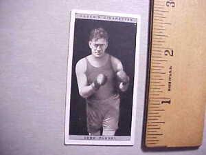 1928-GENE-TUNNEY-HEAVYWEIGHT-BOXING-CHAMP-OGDEN-039-S-CIGARETTE-CARD-47-FINE