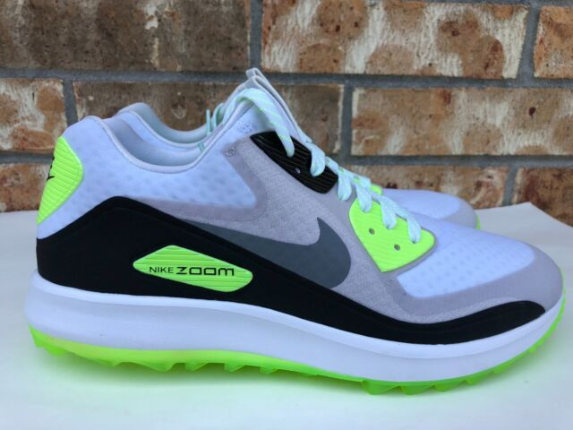 big sale 15a93 15516 Nike Air Zoom 90 It Golf Shoes White Grey Green Rory 844569-102 Mens Size 9