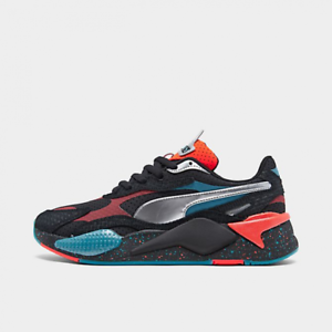 Details about Men's Puma RS-X3 5E Black-Puma Silver-Nrgy Red 373416-01