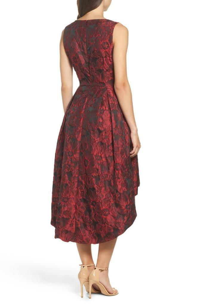 Forest Lily Lily Lily Jacquard High Low Dress (size 6) 0963a7