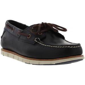 Sze a1bbu Leather Eye Timberland Blu Dark All 2 Shoes Indigio Marrone Deck Tidelands Mens Boat qRFwpxFP6