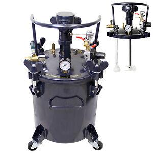 5 Gallon Pressure Feed Paint Pot Tank Spray Gun Sprayer