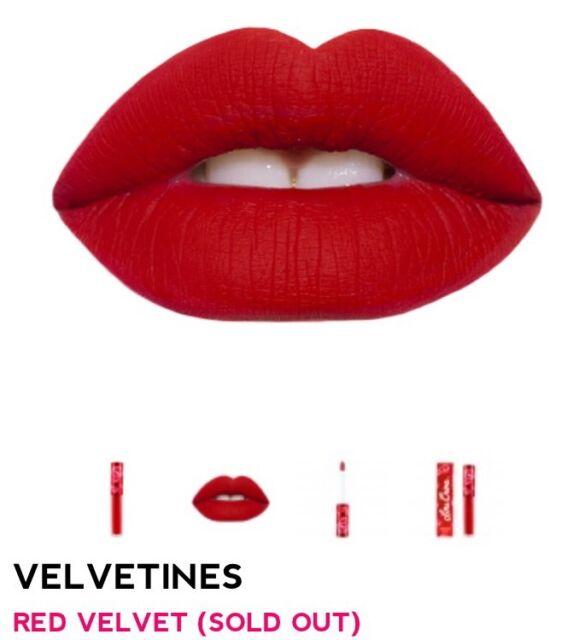 Lime Crime Velvetine Liquid Lipstick Matte Red Velvet ~*Fast ship*~