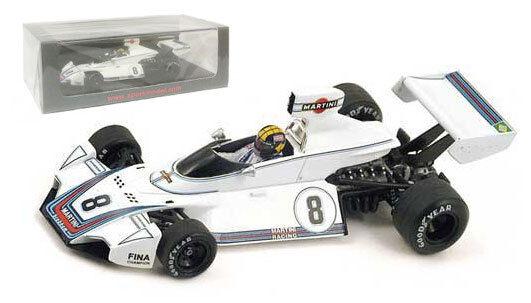 Spark s4345 Brabham Bt44   8 Winner Brasil Gp 1975-Cochelos Pace 1 43 Escala
