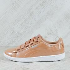 Womens Puma Vikky Ribbon Dusty Coral/White Trainers (BF1) RRP £59.99