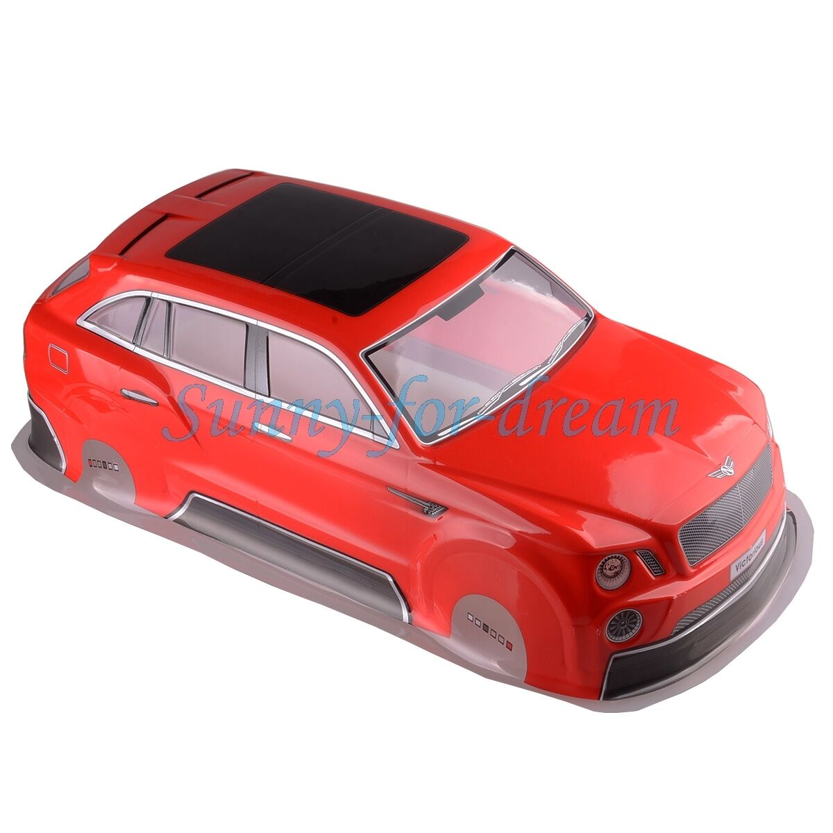 RC 1 10 10 10 On-Road Drift Racing CAR RED Painted PVC Body Shell 200MM HSP HIMOTO 46d5de