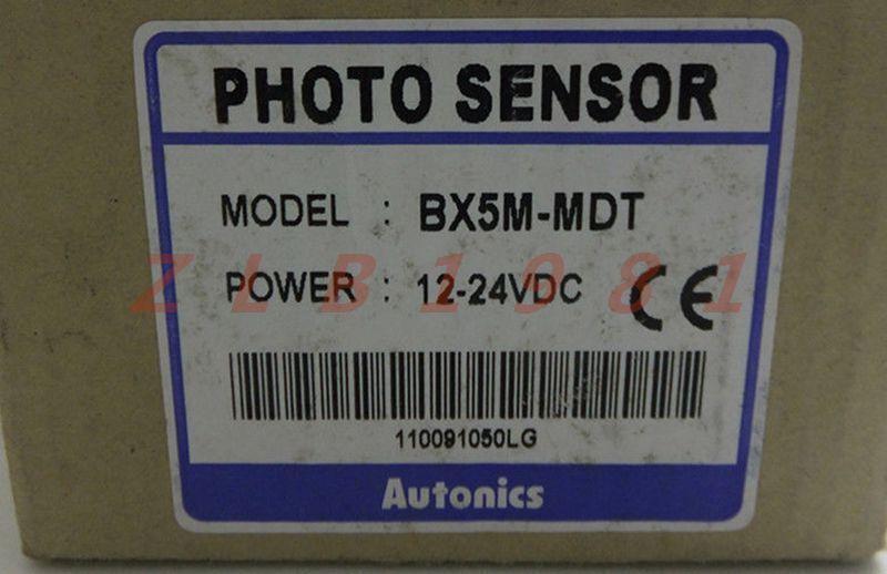 ONE Autonics photoelectric sensor BX5M-MDT