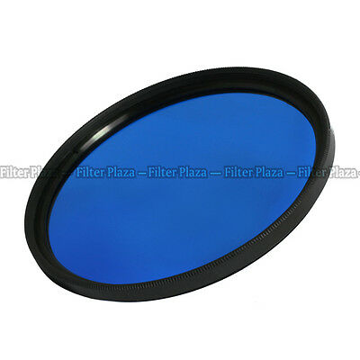 72mm Blue Color Conversion filter Lens For Canon Nikon Sony Olympus Pentax DSLR