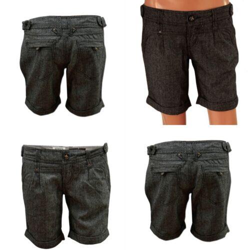 "Neuf /""authentic denim/"" mesdames herringbone short hot pant taille 8 10 12 14 16"