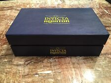 Invicta Blue Display Case 10-slot Aviator collector's Box