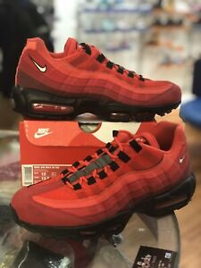 Available Now: Nike Air Max 95 OG Habanero Red •