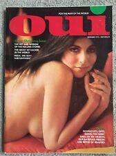 Rare Vintage Adult Men's Interest Collectible Oui Magazine December 1972