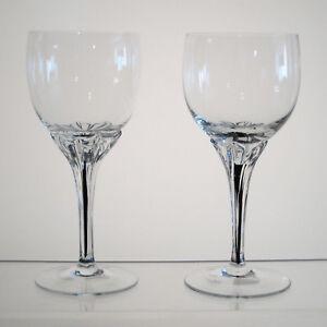 EXQUISITE-BELFOR-BOHEMIA-Wine-Glasses-5-7-8-034-PAIR-Multi-Avail