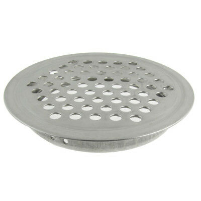 "Stainless steel net hole 2.52"" diameter round ventilation grille S6T6"