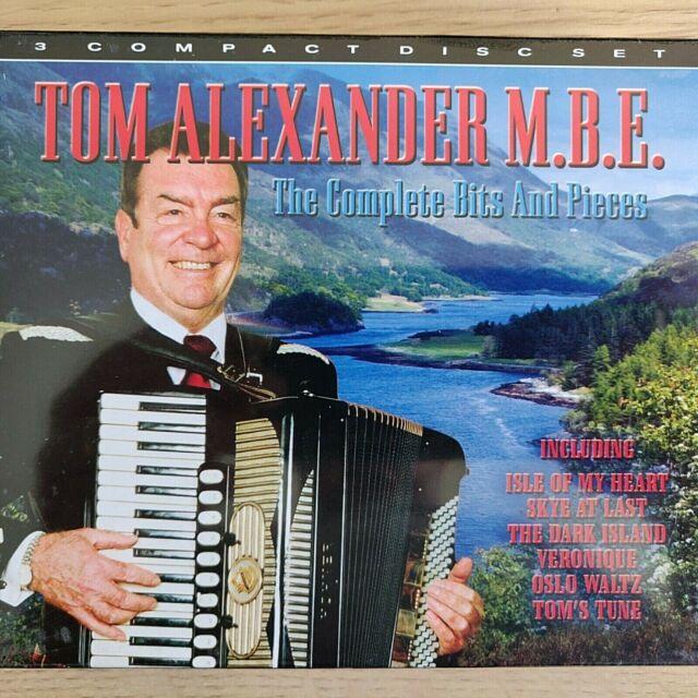 3CD NEW - TOM ALEXANDER MBE - BITS & PIECES - Accordion Folk Music 3x CD Album