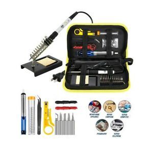 Magento-039-s-Superb-14-Piece-Adjustable-Temperature-Soldering-Iron-Kit-In-Case