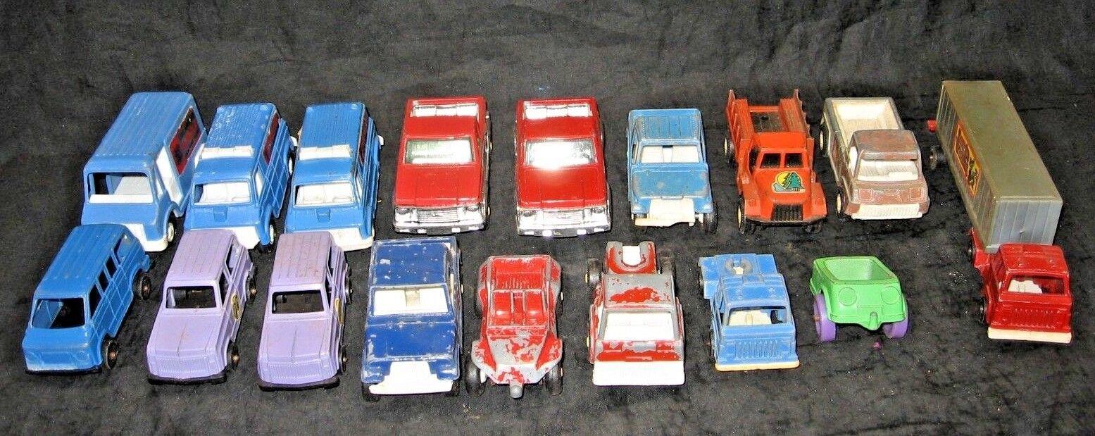 ganancia cero Tootsie Toy Vintage coches desde la tarde años 60 60 60 primeros años 70 Coleccionables, camiones De Metal  Obtén lo ultimo