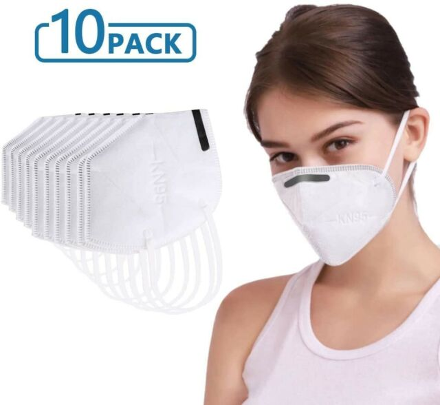 Medical Face Mask Kn95 10 Pack Disposable Safety Protection Mouth Covering Chop For Sale Online Ebay