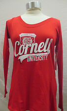 Cornell University Big Red Women's L Long Sleeve Shirt Alta Gracia Red NCAA A15T
