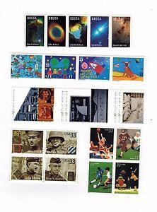 USPS 2000 Commemorative Year set of 39 stamps Mint NH OG
