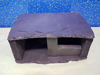 Ambizioso Fennstones Reale Slate Rock Grotta Casa Nascondi Rifugio Ornamento Dei Ciclidi Acquario-mostra Il Titolo Originale Vari Stili