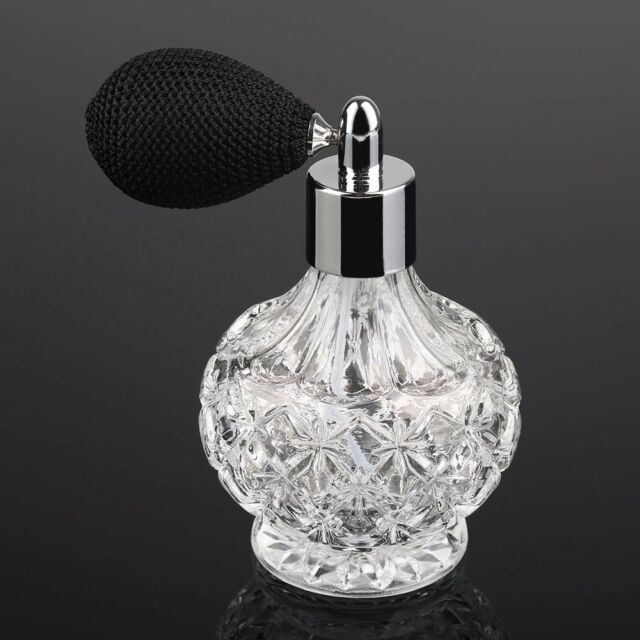 New Vintage Refillable Perfume Spray Empty Glass Bottle Atomizer Diffuser 80ml