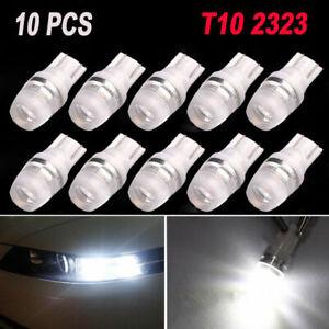 10PCS-T10-Pure-White-LED-194-168-SMD-W5W-Car-Wedge-Side-Light-Bulb-Lamp-DC-12V