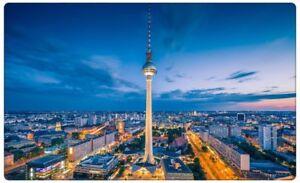 Berlin-Stadt-Skyline-Nacht-Wandtattoo-Wandsticker-Wandaufkleber-R0274