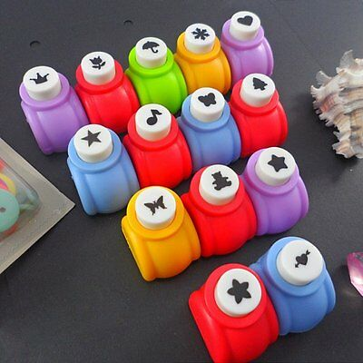 Craft DIY Scrapbooking Cards Making Paper Shaper Hole Punch Mini Cutter IDXX