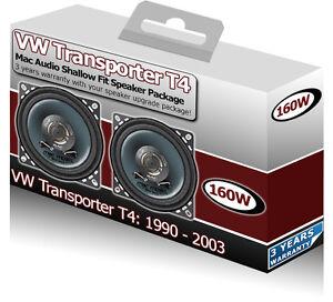 vw transporter t4 front dash speakers mac audio 4 10cm car speaker kit 160w. Black Bedroom Furniture Sets. Home Design Ideas