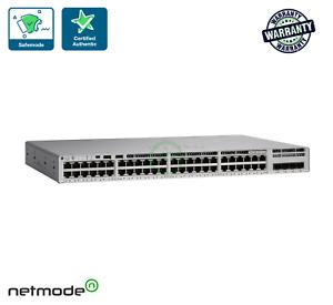 NEW Cisco C9200L-48P-4X-E Catalyst 9200L 48-port PoE+ ...