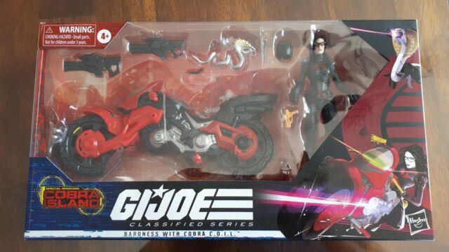 G.I. Joe Classified Cobra Island Baroness C.O.I.L. Motorcycle Bike Brand New