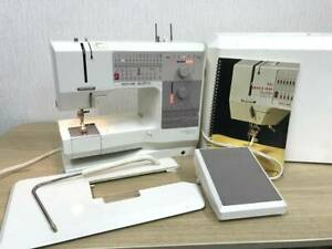 Bernina-1240-Sewing-Machine-Made-in-Switzerland-With-Hard-Case-Household-used