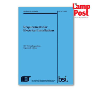 Enjoyable Iet Electricians Wiring Regulations 18Th Edition Blue New Ebay Wiring Database Wedabyuccorg