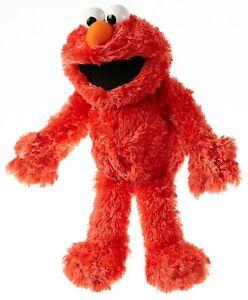 SONDERPREIS-Sesamstrasse-ORIG-Elmo-Handpuppe-34-cm-Living-Puppets-QUALITAT-NEU