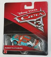 CARS 3 - MURRAY CLUTCHBURN racer SPUTTER STOP TEAM -  Mattel Disney Pixar