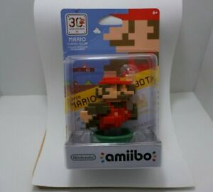 8-Bit Mario (Classic Color) 30th Anniversary amiibo - US Version (New/Sealed)